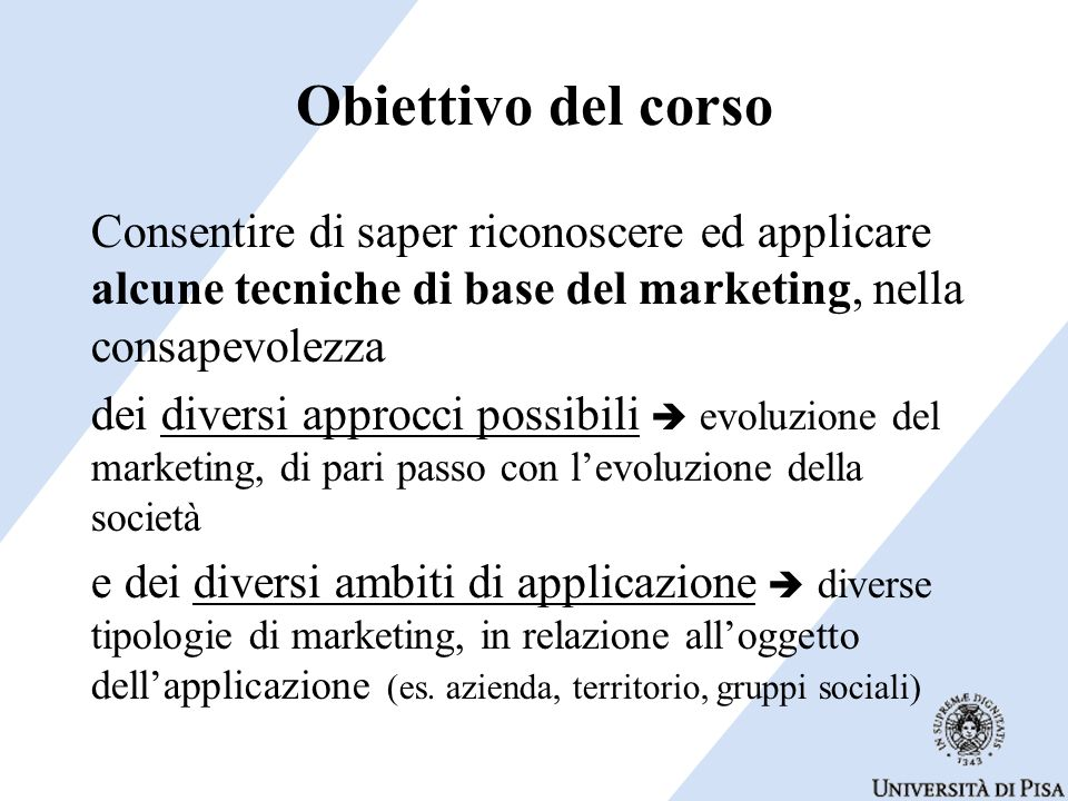 Marketing e comunicazione Adanella Rossi Dip.