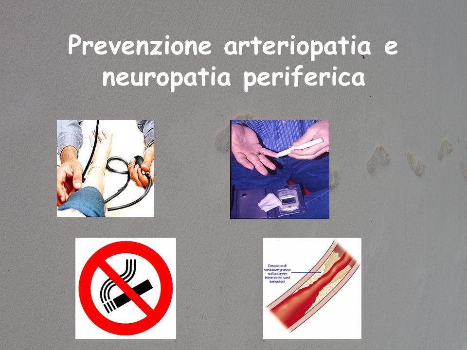 Prevenzione arteriopatia e neuropatia periferica