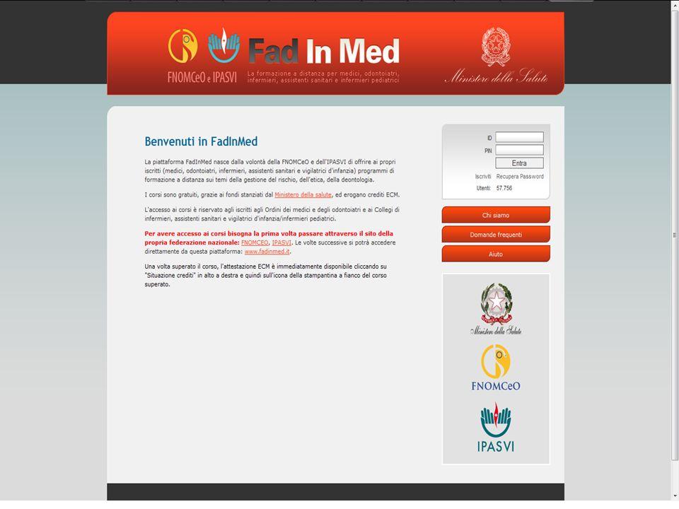 FadInMed www.fadinmed.it Dati al 07-10-2011