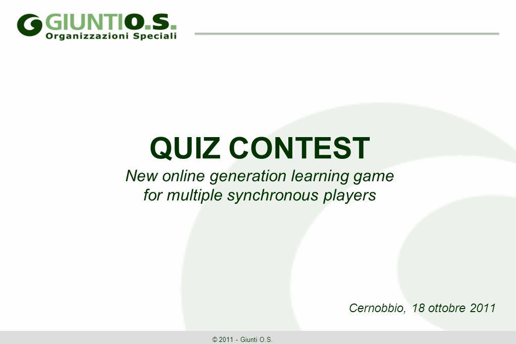 In quanti siamo a giocare? © 2011 - Giunti O.S. Fonte: visual.ly