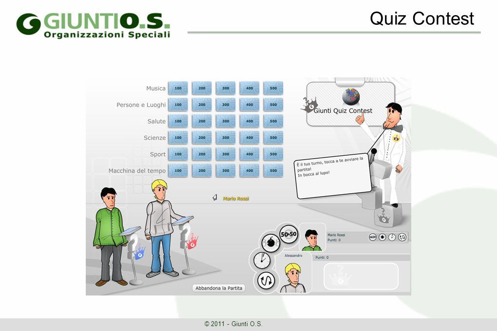 Quiz Contest © 2011 - Giunti O.S.