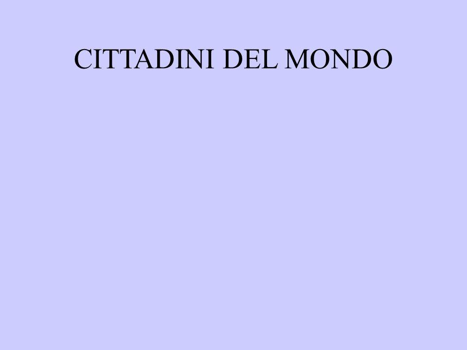 CITTADINI DEL MONDO