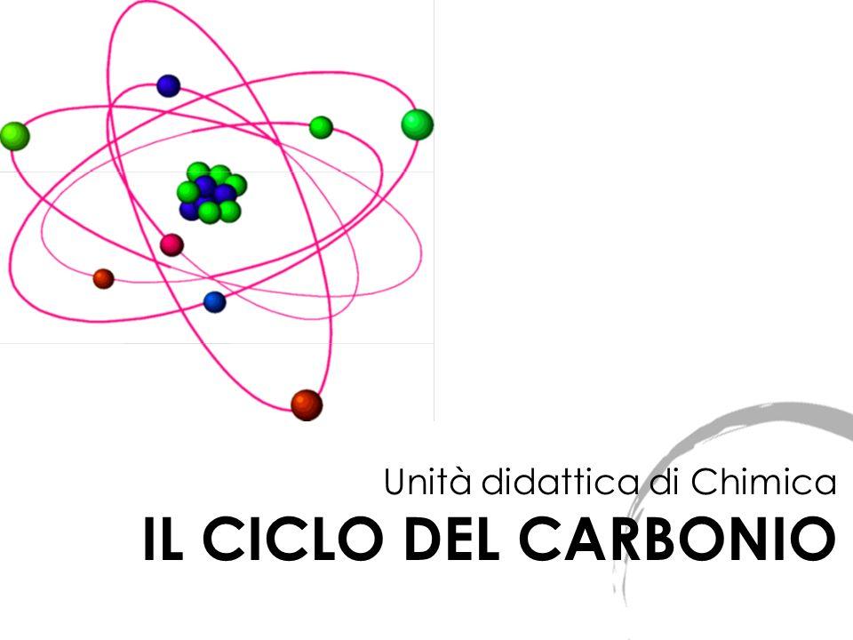 Unità didattica di Chimica IL CICLO DEL CARBONIO