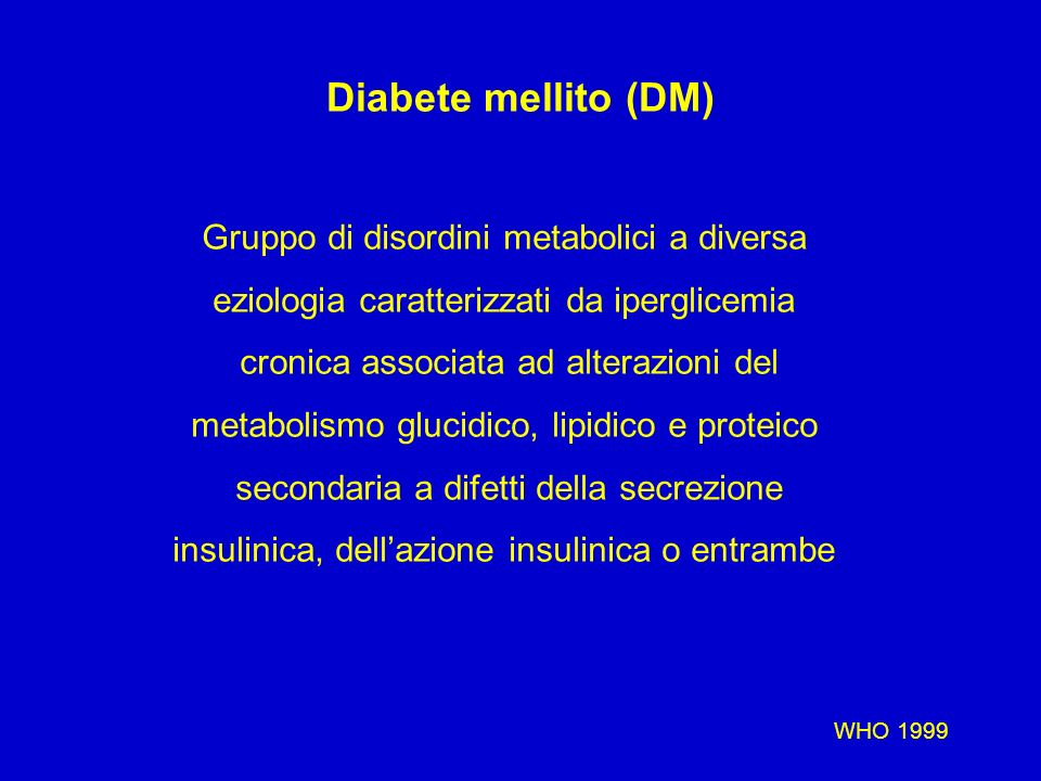 Nefropatia diabetica: epidemiologia Morbidità e Mortalità –Tipo 1 Dopo 40 anni la mortalità é del 90% per i soggetti con nefropatia versus il 30% per quelli senza nefropatia.