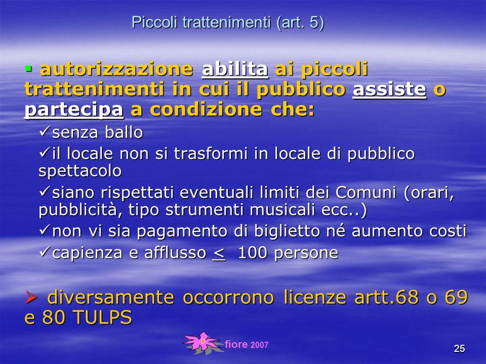 fiore 2007 25 Piccoli trattenimenti (art.