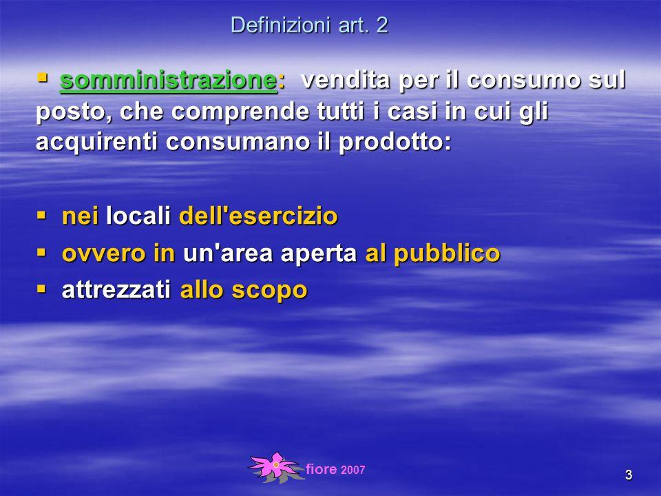 fiore 2007 4 Definizioni art.