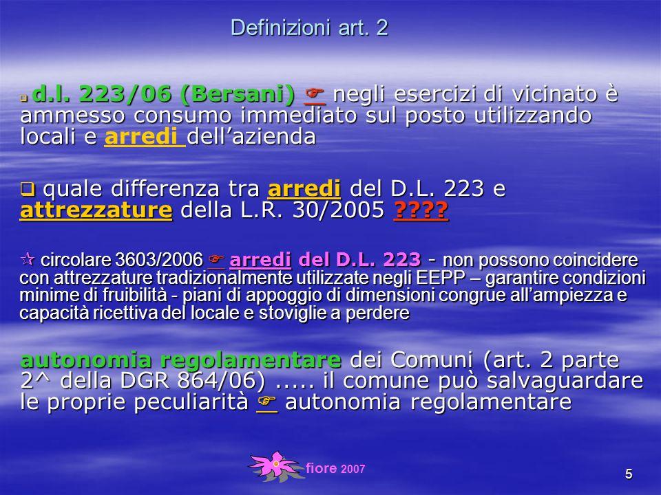 fiore 2007 36 sanzioni (art.