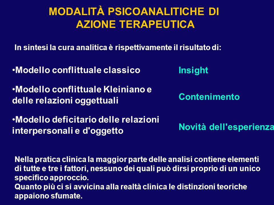 Nella pratica clinica la maggior parte delle analisi contiene elementi di tutte e tre i fattori, nessuno dei quali può dirsi proprio di un unico speci