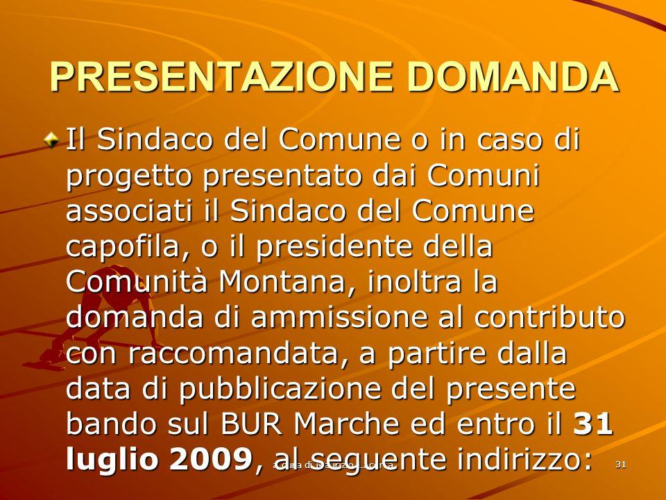 a cura di Maurizio Lacerra 32 Giunta Regione Marche P.F.