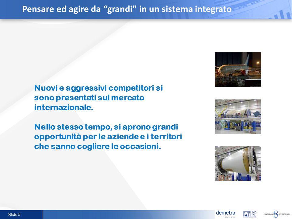 Slide 5 Nuovi e aggressivi competitori si sono presentati sul mercato internazionale. Nello stesso tempo, si aprono grandi opportunità per le aziende