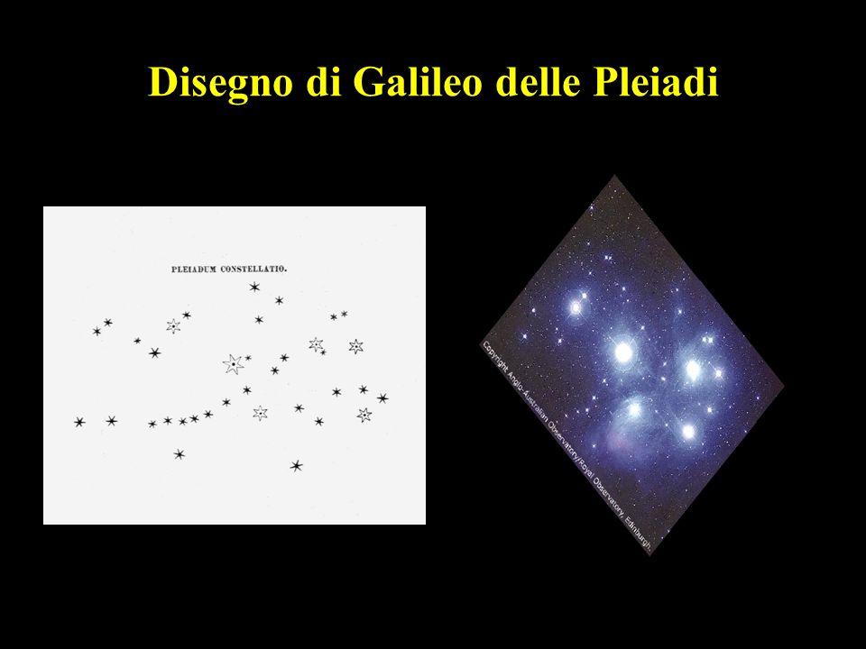 32 Disegno di Galileo delle Pleiadi