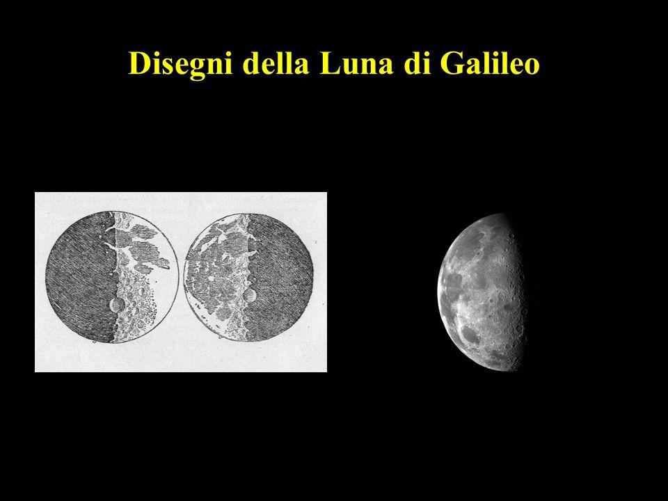 36 Disegni della Luna di Galileo