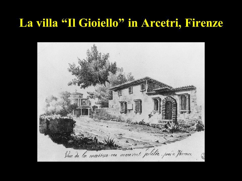 49 La villa Il Gioiello in Arcetri, Firenze