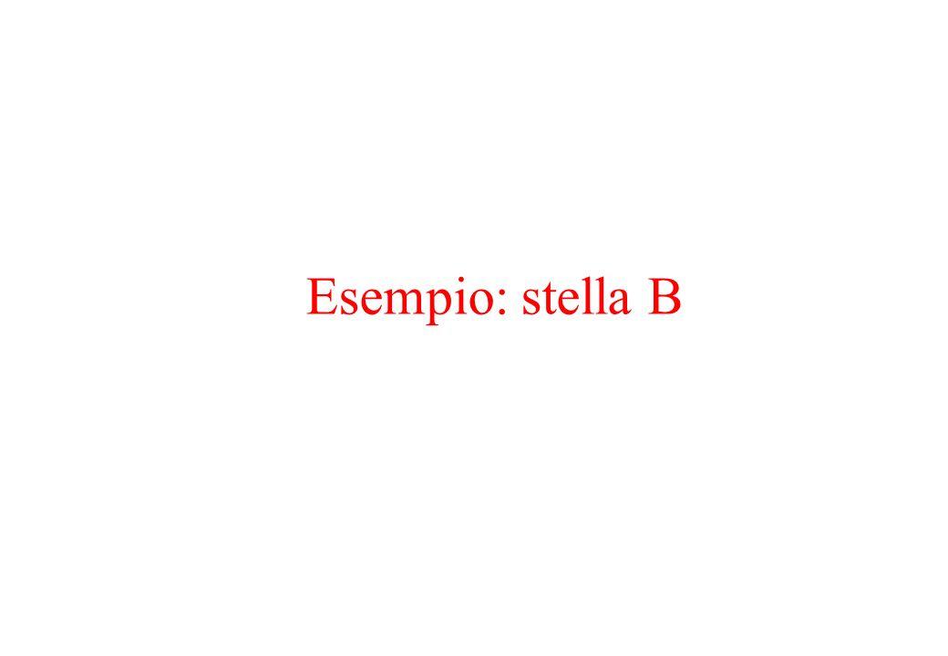 Esempio: stella B