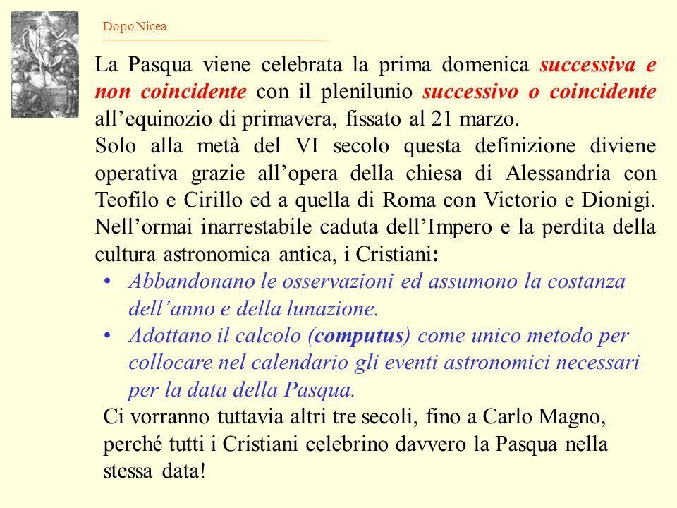 Il Concilio di Nicea Gli atti del Concilio non sono arrivati a noi e conosciamo ciò che fu deciso solo dalle lettere o dai documenti successivi che al