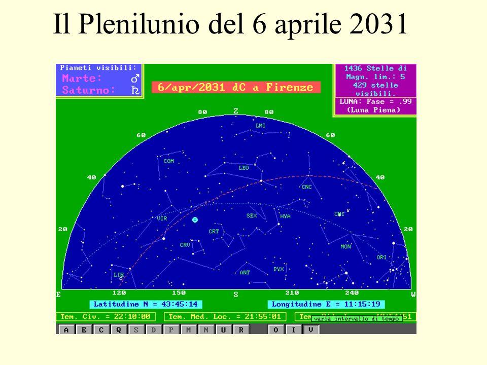 Il Plenilunio del 6 aprile 2012