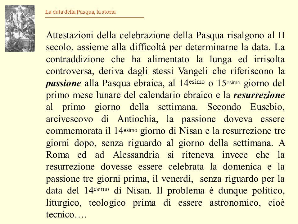 I Calendari, F. Alvino Firenze 1891 Le epatte sostituiscono il numero aureo Epatta = VI nel 2012