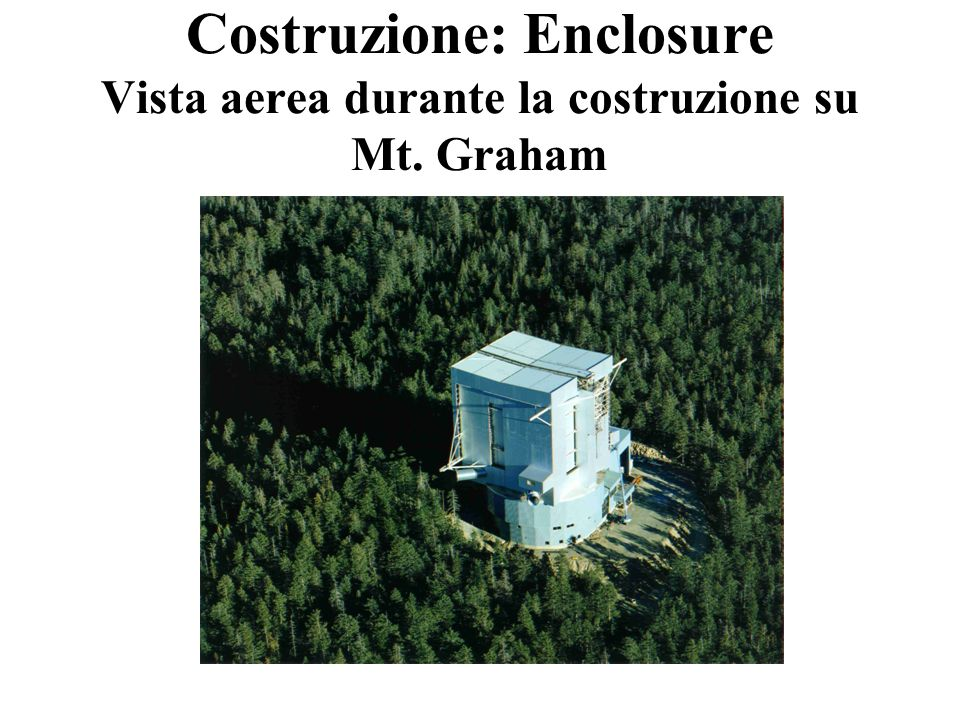 Ascensore Portelloni di ventilazione Costruzione: Enclosure Vista da dietro
