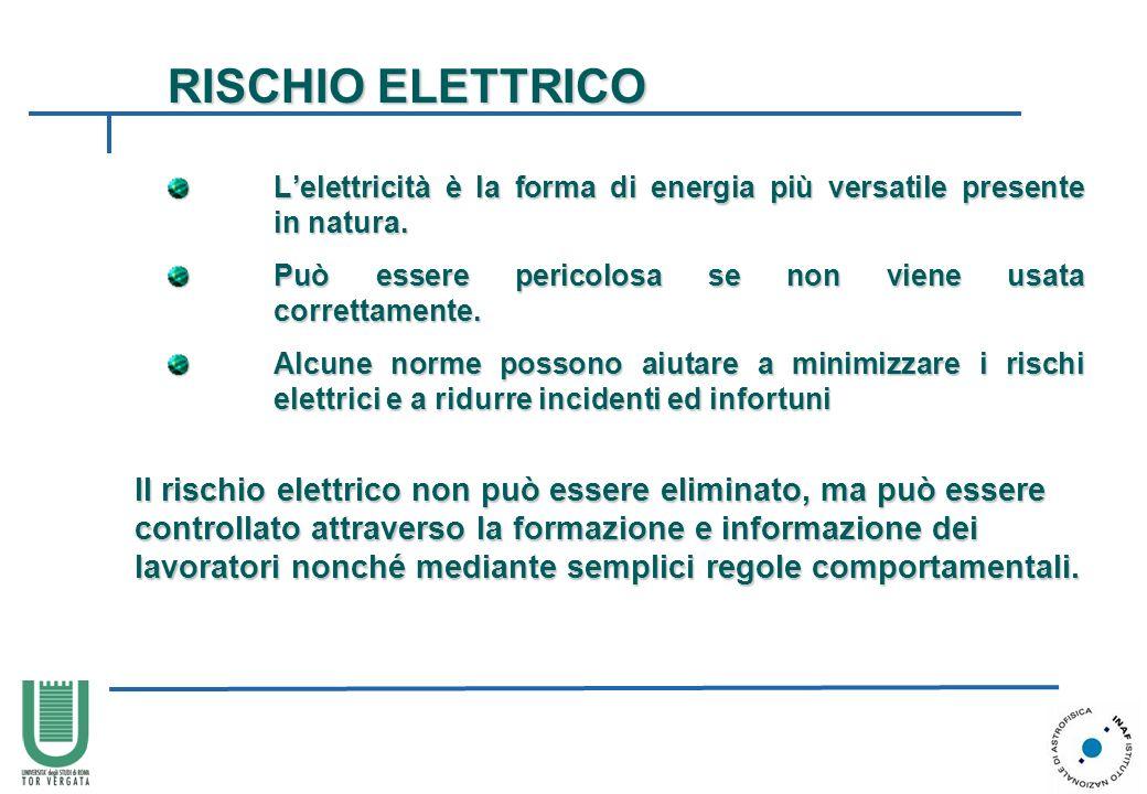 Lelettricità è la forma di energia più versatile presente in natura. Lelettricità è la forma di energia più versatile presente in natura. Può essere p