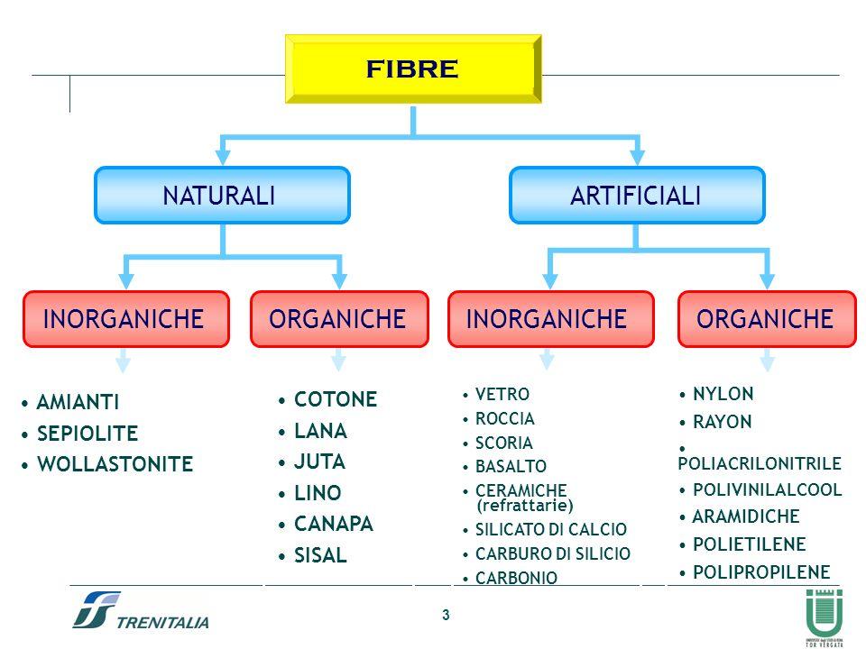 4 Pericolosità dellesposizione alle fibre È funzione di: –Diametro –Lunghezza –Natura (durabilità) –Dose (concentrazione e tempo di esposizione)