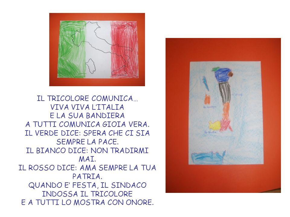 Prendiamo il disegno dellItalia che abbiamo realizzato nel foglio grande e chiediamo ai bambini se sanno dire dove si trova Mombaroccio… Con nostra grande sorpresa indicano il centro dellItalia!!.