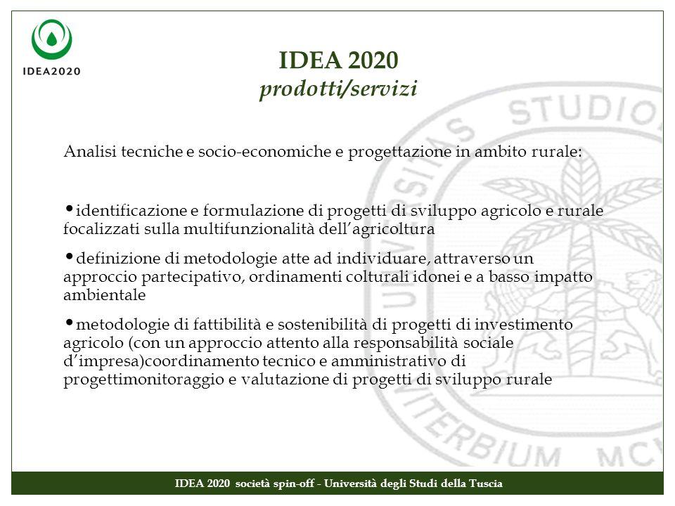 Analisi tecniche e socio-economiche e progettazione in ambito rurale: identificazione e formulazione di progetti di sviluppo agricolo e rurale focaliz