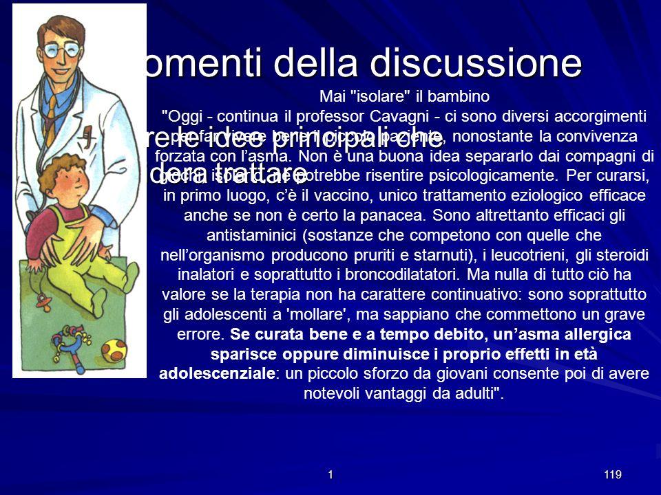 1 118 Introduzione Esporre lo scopo della discussione Presentarsi -