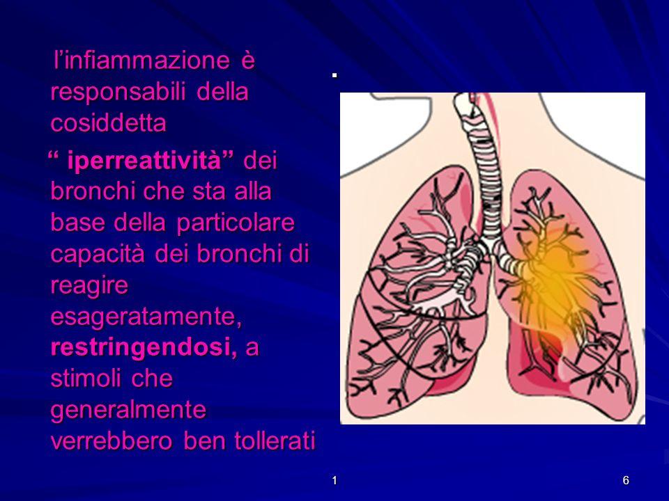 1 96.La prevenzione è una parte molto importante nella cura dell asma e delle sue manifestazioni.