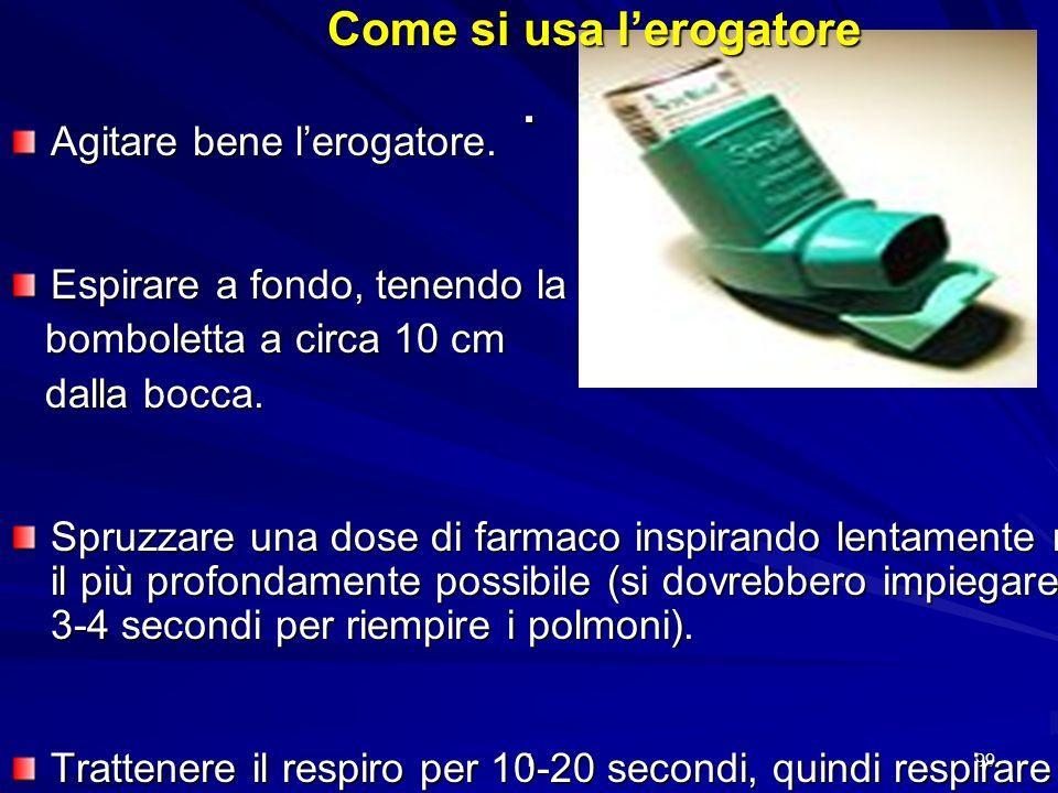 1 98 Broncodilatatori a lunga durata dazione (beta 2 agonisti a lunga azione, teofillina a lento rilascio) Sono utilizzati insieme ai cortisonici per