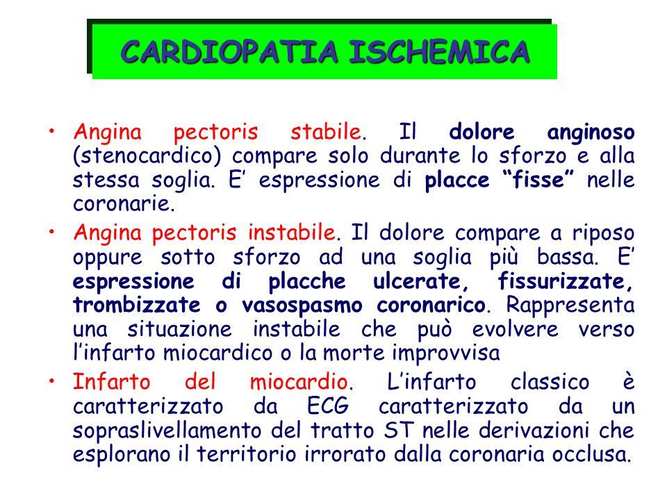 Langina pectoris è una malattia delle arterie coronariche caratterizzata da dolore intenso ed improvviso (non sempre nellangina atipica) dovuto allinsufficiente apporto di ossigeno in determinati settori miocardici.