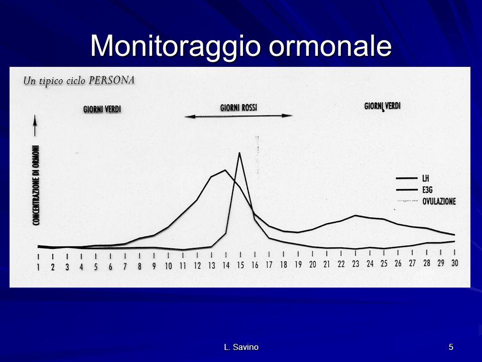 L. Savino 5 Monitoraggio ormonale