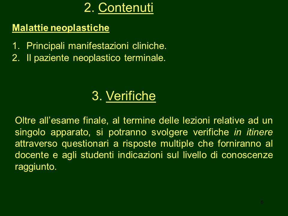 7 4.Testi Testo consigliato: R. Massini e coll.
