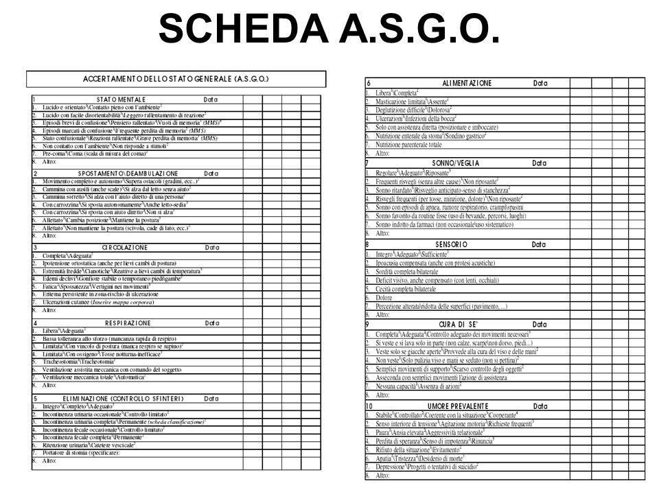 SCHEDA A.S.G.O.