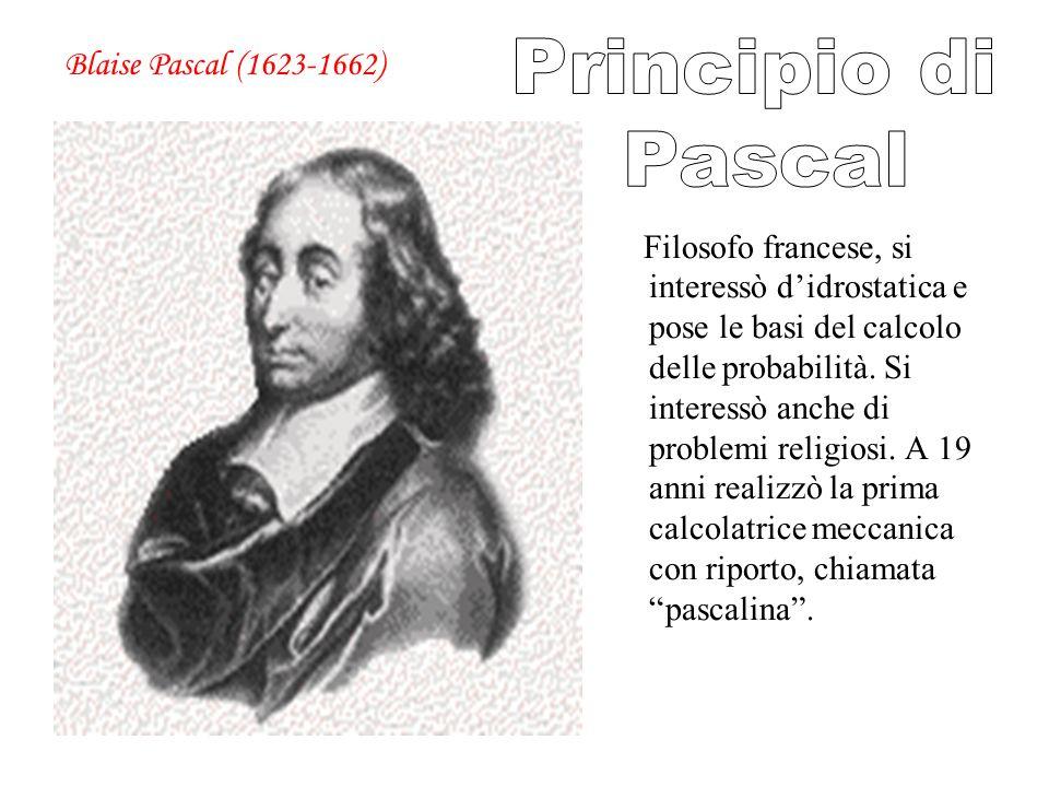 Filosofo francese, si interessò didrostatica e pose le basi del calcolo delle probabilità. Si interessò anche di problemi religiosi. A 19 anni realizz