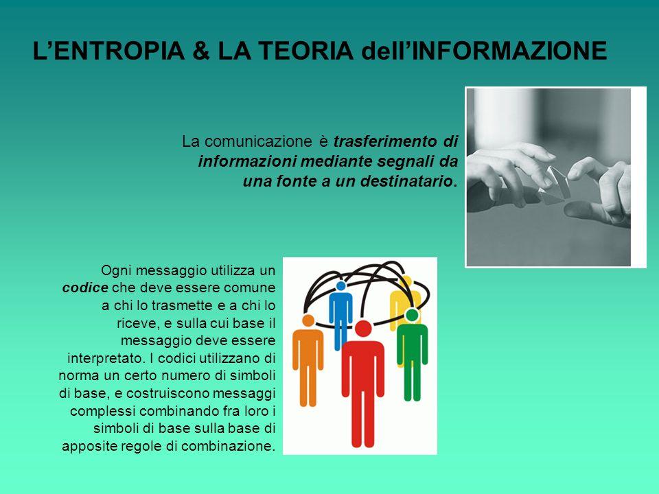 La comunicazione è trasferimento di informazioni mediante segnali da una fonte a un destinatario. Ogni messaggio utilizza un codice che deve essere co