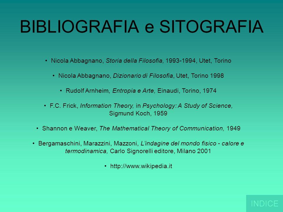 BIBLIOGRAFIA e SITOGRAFIA Nicola Abbagnano, Storia della Filosofia, 1993-1994, Utet, Torino Nicola Abbagnano, Dizionario di Filosofia, Utet, Torino 19