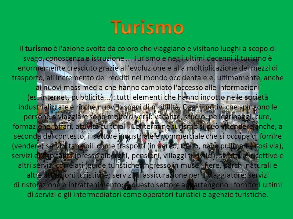 Negli ultimi anni il turismo ha potuto mostrare, la rilevanza fondamentale come attività economica di primaria importanza.