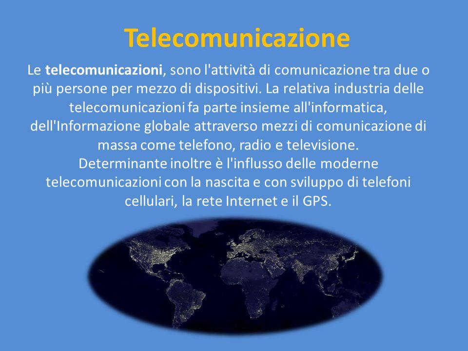 Telecomunicazione via internet