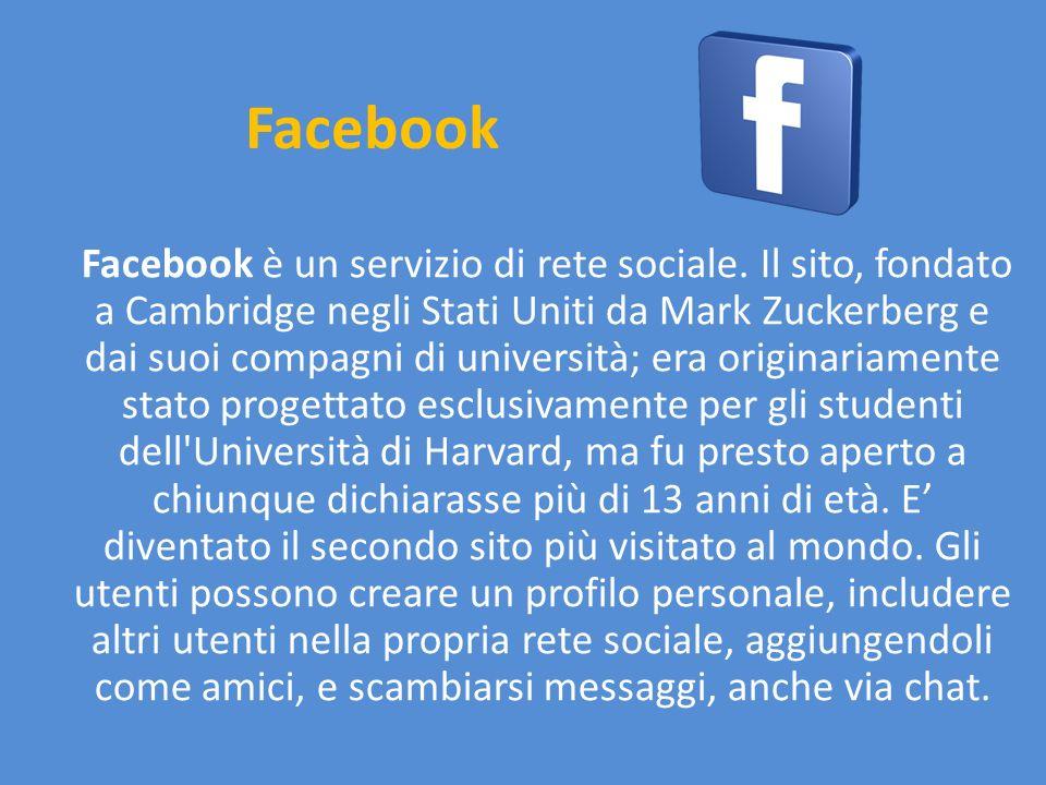 Twitter Twitter è un servizio gratuito di social network che fornisce agli utenti una pagina personale aggiornabile tramite messaggi.