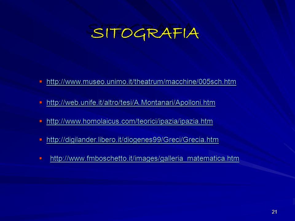 20 BIBLIOGRAFIABIBLIOGRAFIA APOLLONIO DI PERGA, Les coniques, trad.