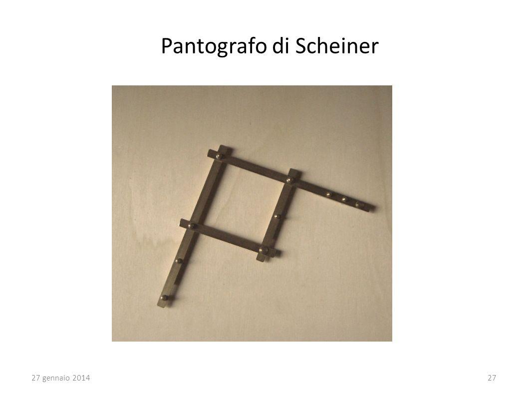 27 gennaio 201427 Pantografo di Scheiner