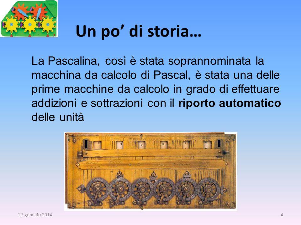 La Pascalina, così è stata soprannominata la macchina da calcolo di Pascal, è stata una delle prime macchine da calcolo in grado di effettuare addizio