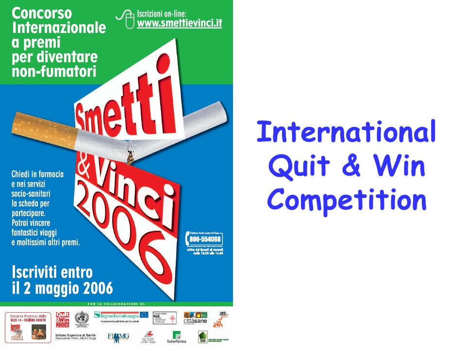International Quit & Win Competition