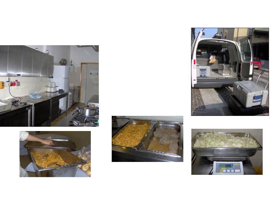 Gruppi di Volontariato Vincenziani - Casa della Carit à, cucina Mense scolastiche comunali