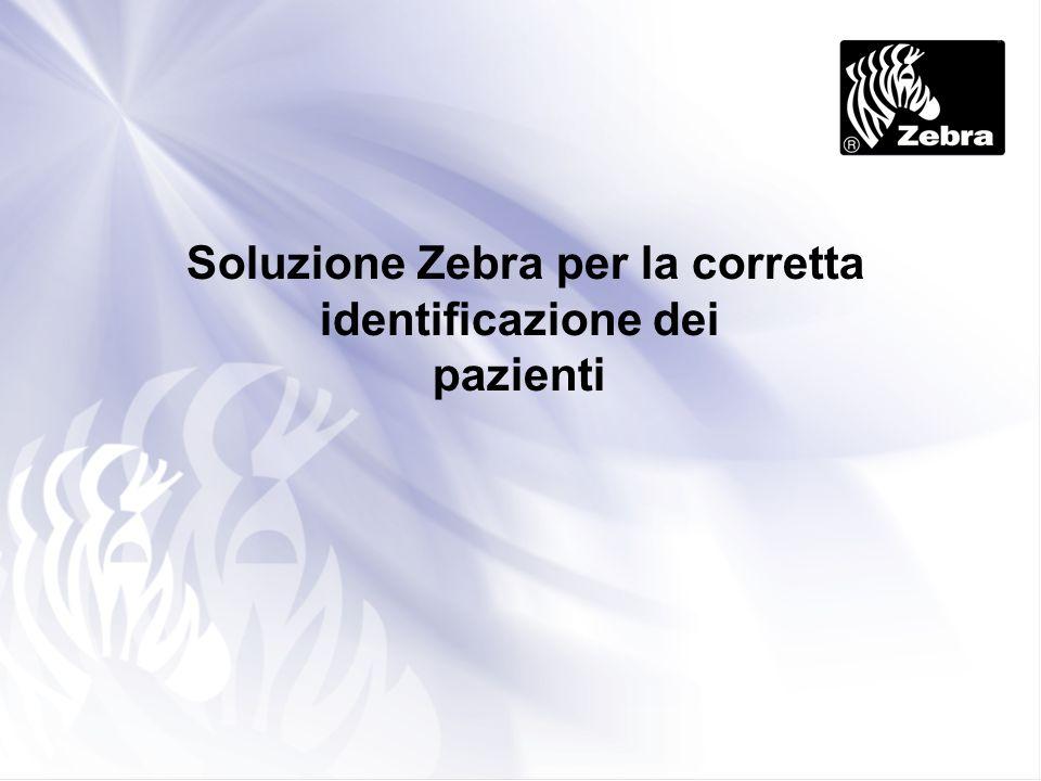 Soluzione Zebra per la corretta identificazione dei pazienti
