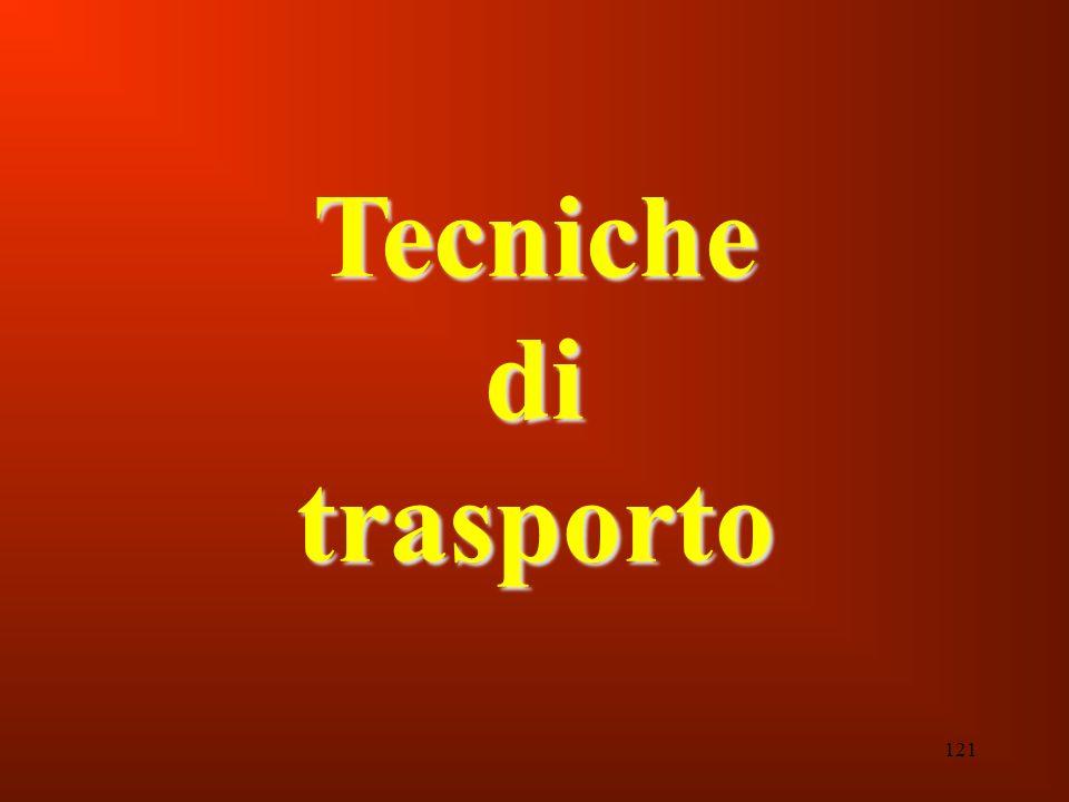 121 Tecniche di trasporto