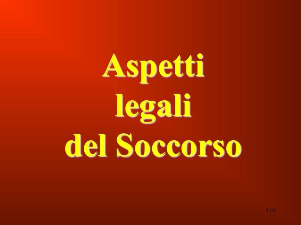 148 Aspetti legali del Soccorso