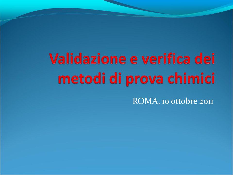 Progettazione della validazione 2 Realizzazione del progetto, che comprende: stesura della bozza del metodo (v.
