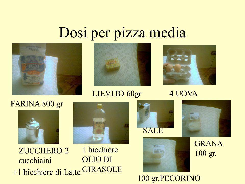 INGREDIENTI FARINA LIEVITOUOVA ZUCCHERO OLIO DI GIRASOLE SALE GRANA PECORINO ROMANO +…Latte +…margarina