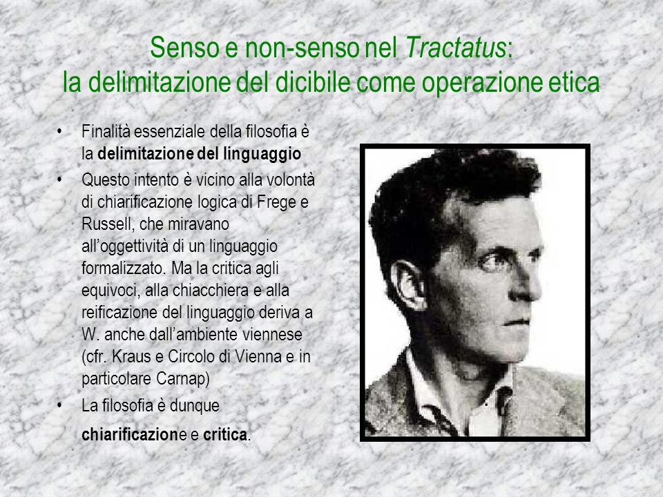 Edizione annotata da Wittgenstein del Tractatus Logico-philosophicus